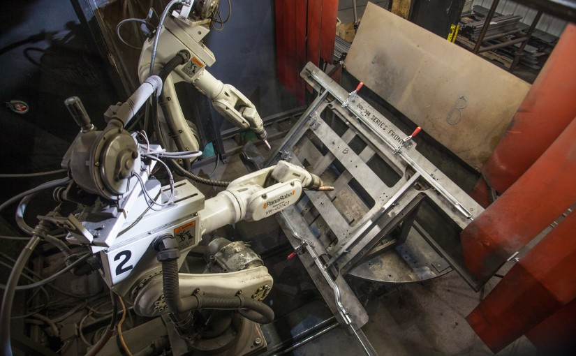 Metal Fabrication | Have You Ever Seen a Robot Weld a Bed Frame?